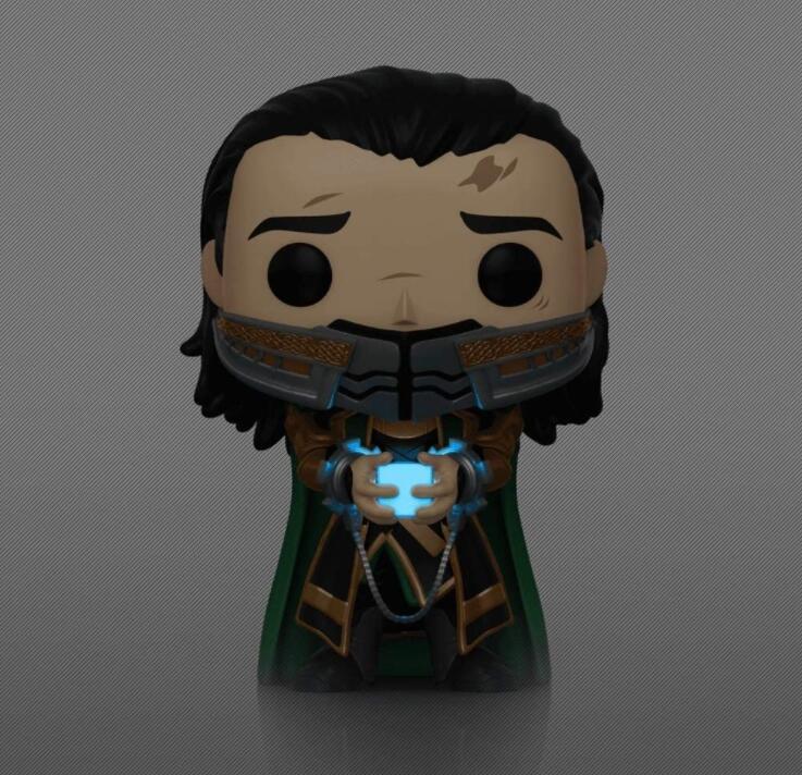 Marvel: Avengers Endgame - Loki with Glow-in-The-Dark Tesseract 747 10cm Action Figure Toys