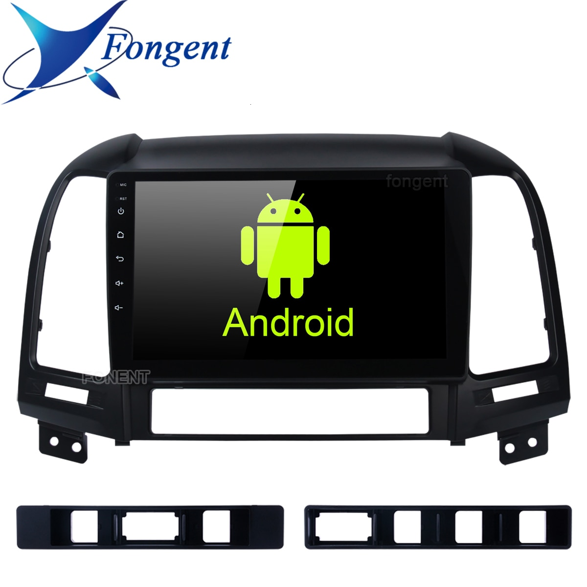 Für Hyundai Santa Fe 2005 2006 2007 2008 2009 2010 2011 2012 Android 9,0 Auto Radio Multimedia Player Gps Kopf einheit Stereo Audio