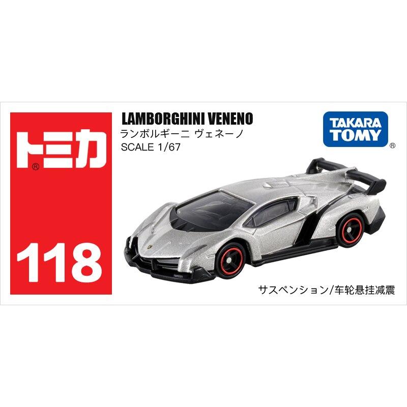 Traum Tomica Auto LAMBORGHINI VENENO Automotive welt Diecast Metall Modell Auto