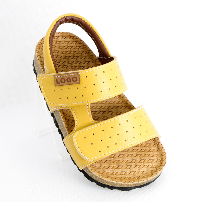 AliExpress - Boys Sandals Summer Kids Casual Shoes PU Leather Corks EVA Children Slides 1-3-12 Years Old Toddler Male Flat with