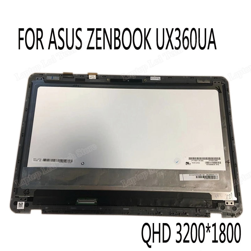 ل ASUS ZENBOOK FLIP UX360U سلسلة UX360UA UX360UAK استبدال الكمبيوتر المحمول lcd الجمعية