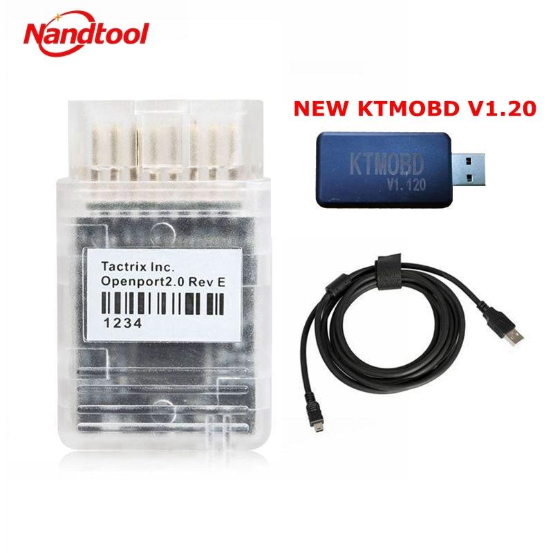 Ktmobd v1.20 ecu programador & ferramenta de atualização de energia caixa de engrenagens ktmbench v1.20 novo adicionar para h-onda/t-oyota/h-yundai/kia/f-o-r-d/V-W 1.95