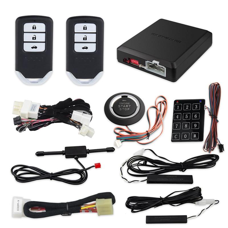 EASYGUARD CAN BUS plug and play PKE kit apto para Honda Crider JADE GREIZ botón de inicio remoto pasivo entrada sin llave