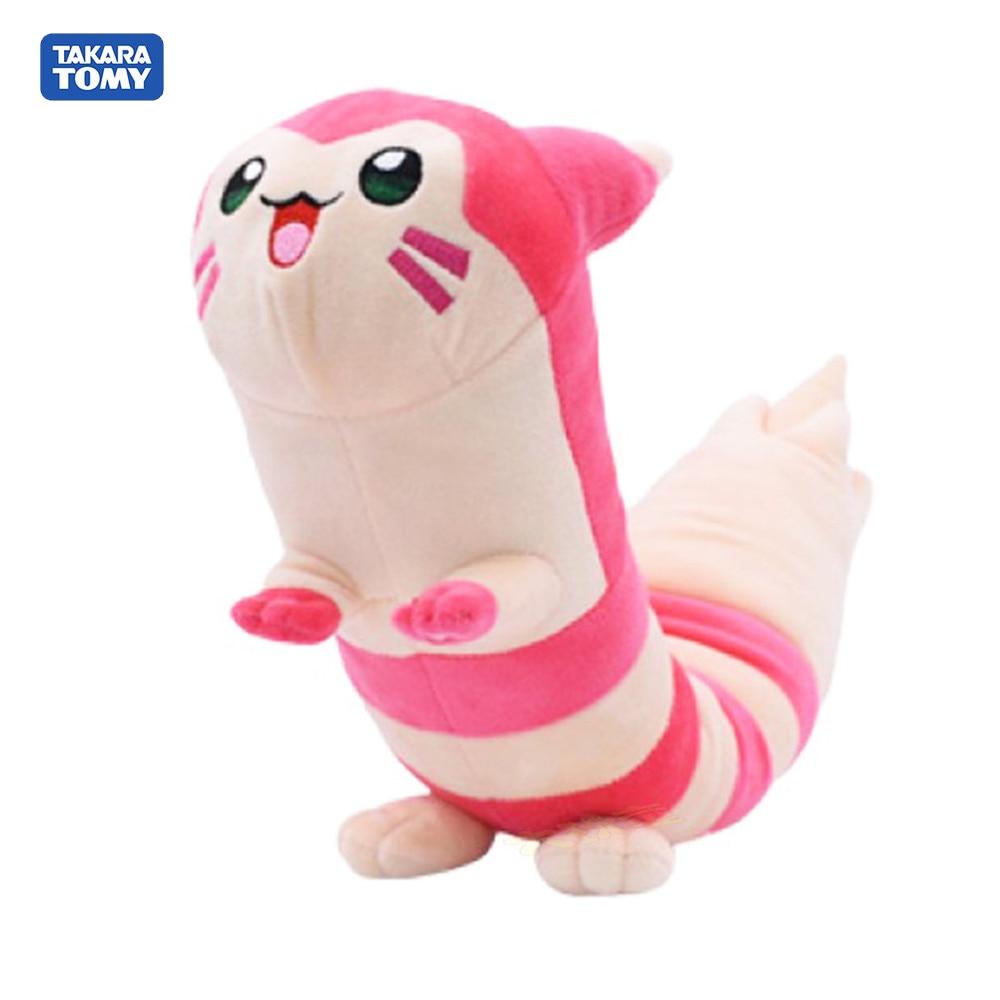 Nuevo Modelo de Pokemon, furet brillante de 45CM, muñeco de peluche, muñecas de animales suaves para niños, regalo de peluche, juguetes para niños