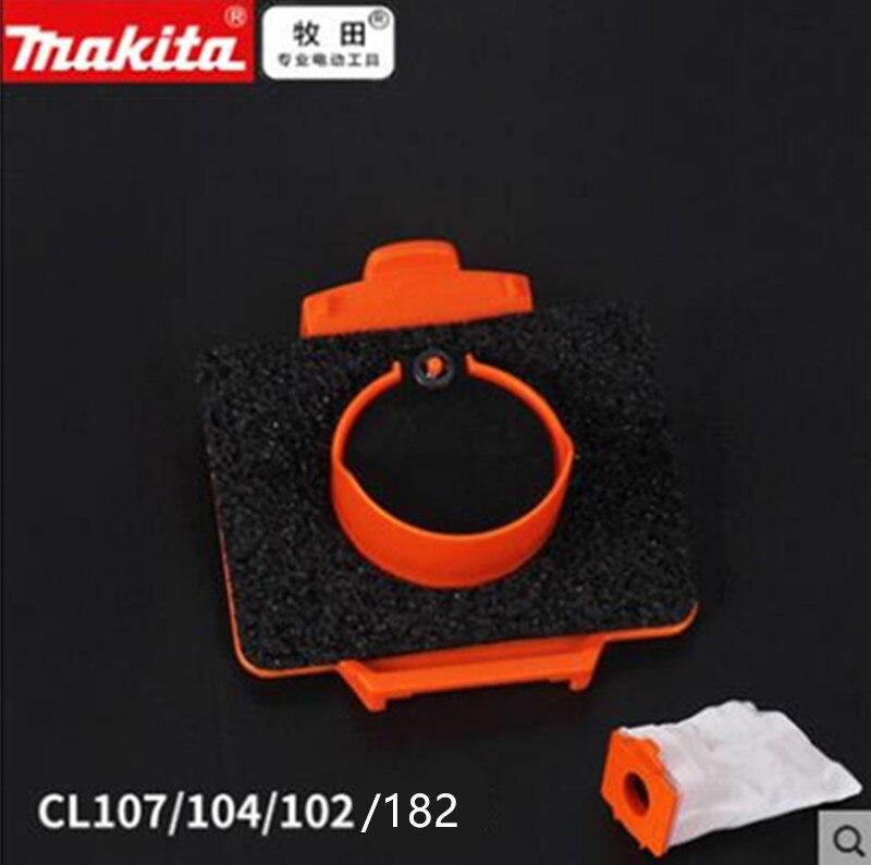 MAKITA stoff staubbeutel Ventil rahmen montage 143677-9 für DCL182 CL107 CL102D CL104D BCL182 LXLC01 BCL142 CL072D 4013D 4073D