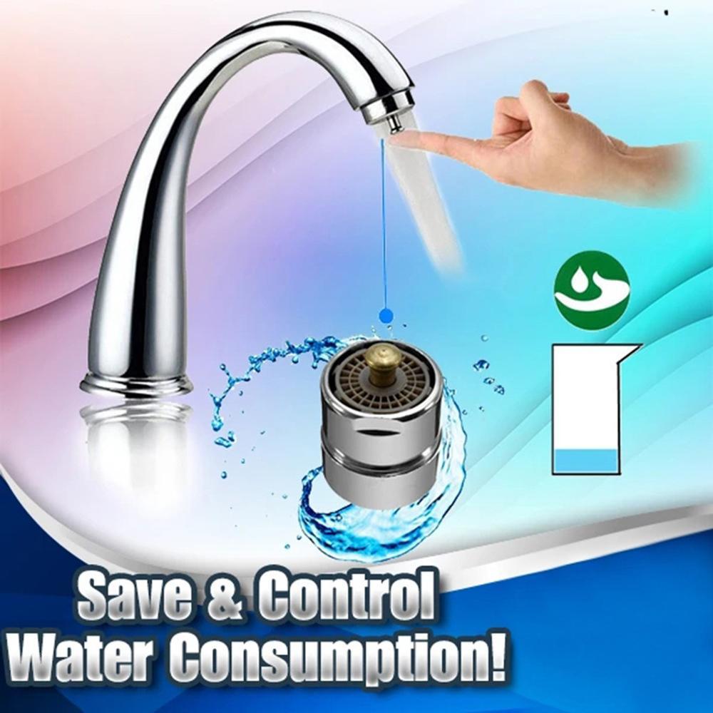 Aireador de grifo de Control de un toque de latón aireadores para grifos de rosca Bubbler de cocina Válvula de ahorro de agua dispositivo grifo ahorro de agua #107