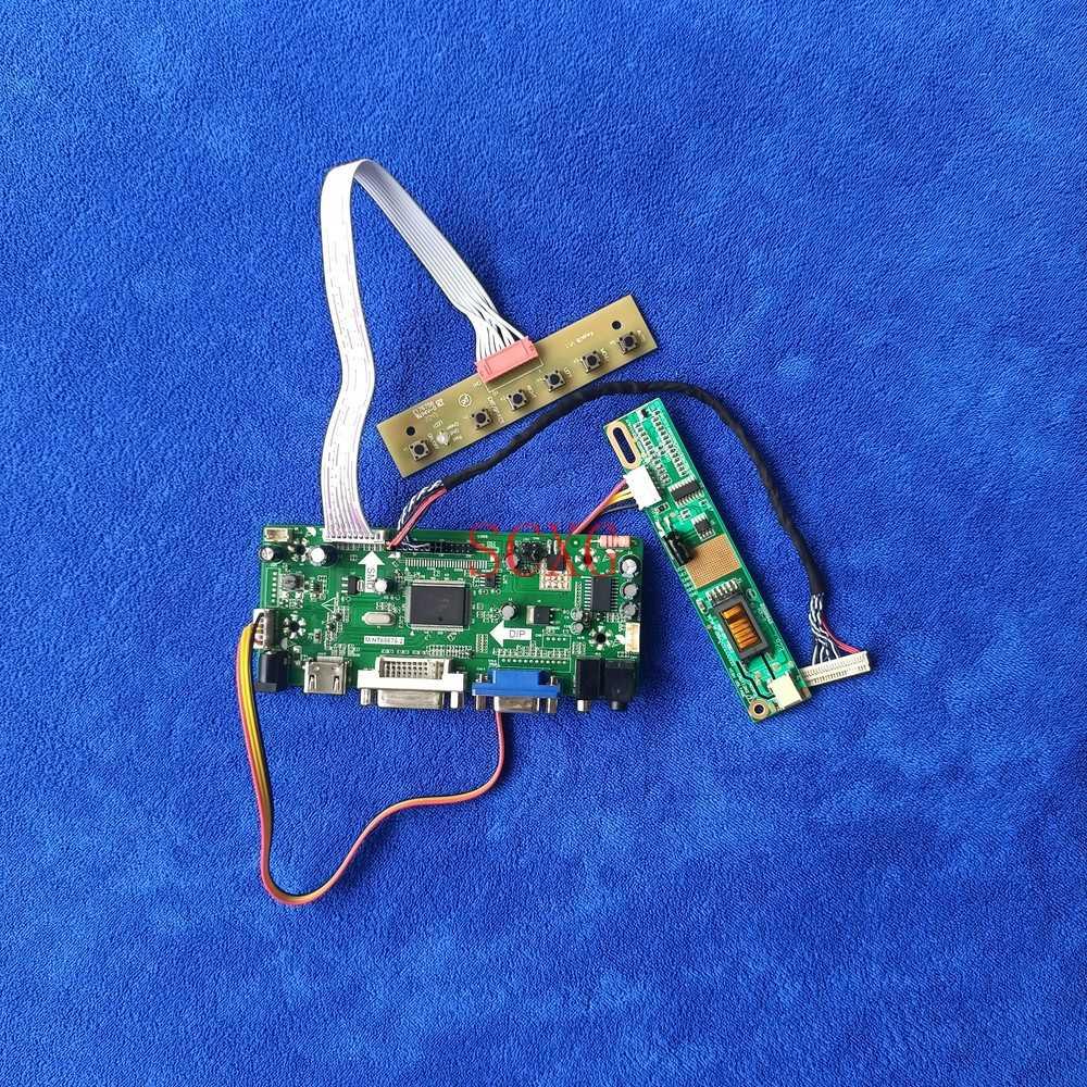 1CCFL HDMI-متوافق DVI VGA Kit 1920*1080 لوحة 30 دبوس LVDS ل LQ164M1LD4A/LQ164M1LD4C/LQ164M1LD4D M.NT68676 لوحة تحكم