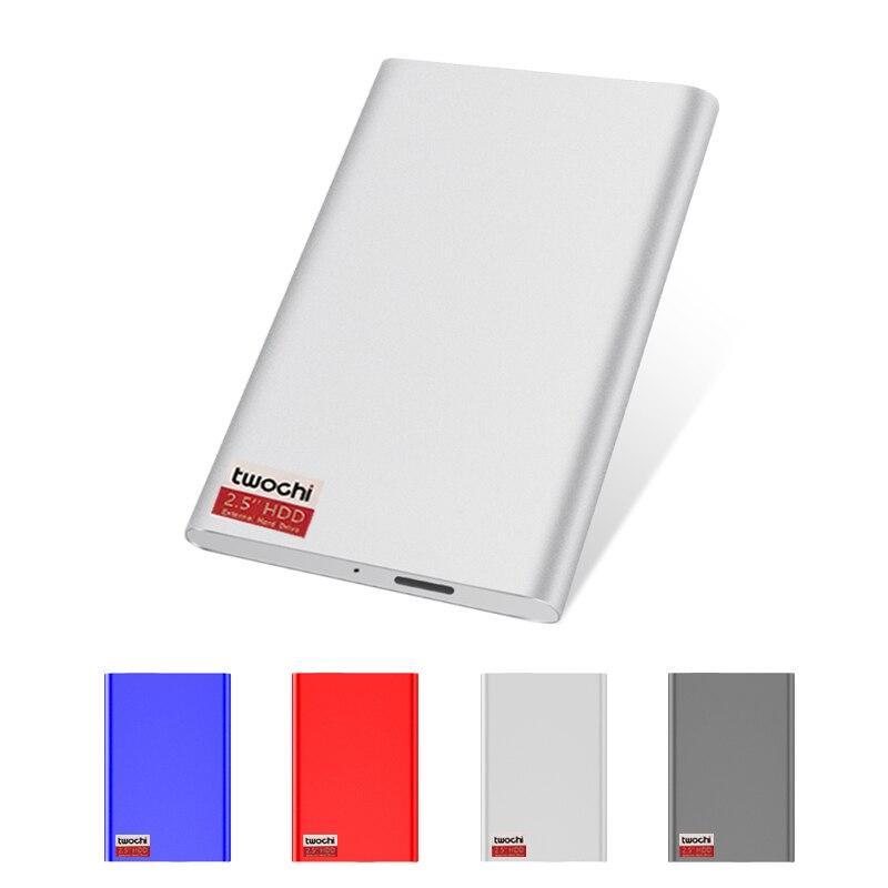 External Hard Drive Disk USB3.0 HDD1TB 750G 500G 320G 250G 160G 120G 80G Storage for PC, Mac,Tablet, Xbox, PS4,TV box 4 Color