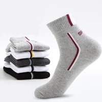 mens sports basketball pure cotton tube socks sweat absorbent and deodorant wear resistant sweat absorbent sports mens socks