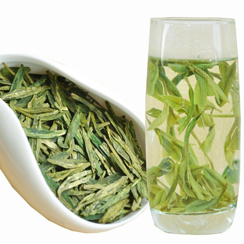 Dragon Well té chino de Longjing el té verde chino Longjing el té verde de China cuidado de la salud adelgazante té verde de belleza