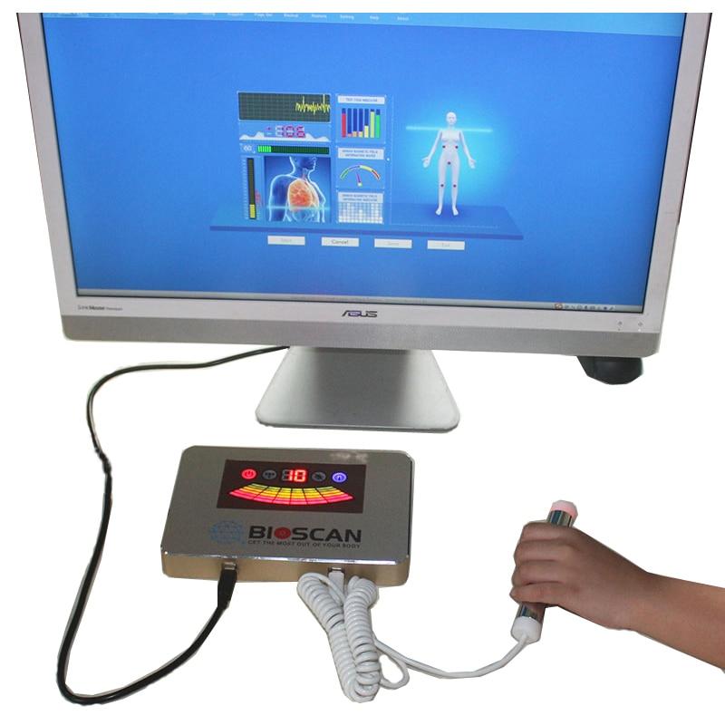 Новое поступление, Квантовый магнитно-резонансный анализатор BIOSCAN, Квантовый анализатор тела с испытательным зондом, 52 отчета