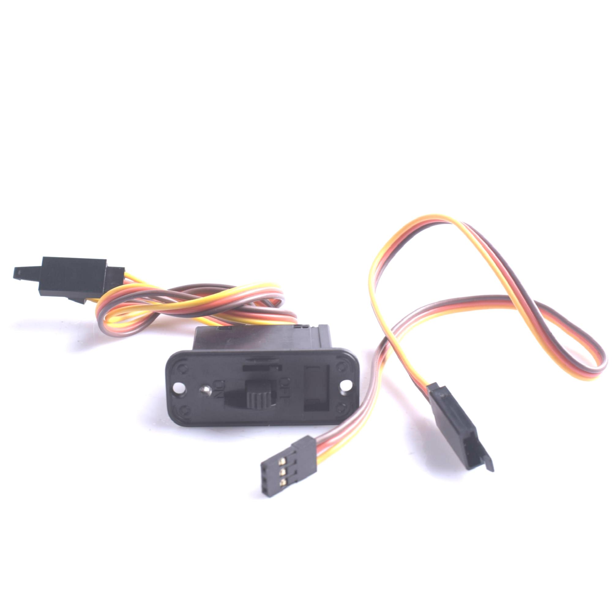 Переключатель RC JR Futaba JST BEC стиль Сверхмощный переключатель вкл/выкл с зарядным портом и яркий светодиодный светильник для радиоуправляемого зарядного устройства Lipo батарея