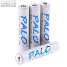 Palo 4 Stuks 1.2V Aaa 1100Mah Ni-Mh Oplaadbare Batterij Met Veiligheidsklep Voor Draadloze Muis/Draadloze muis/Spel Handvat