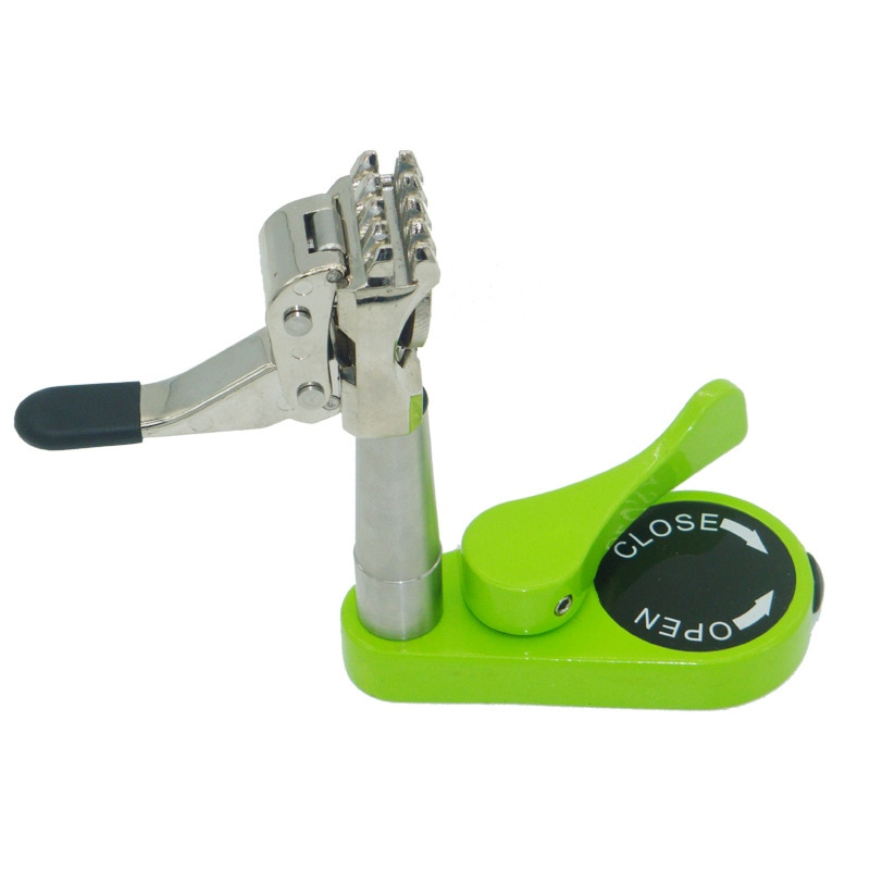 Raqueta de bádminton, herramienta para enhebrar, raqueta de tenis, máquina de enhebrar, herramienta de Red giratoria, doble uso, abrazadera de 5 dientes