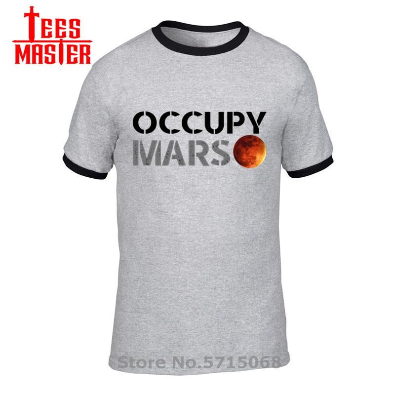 Espaço x camiseta elon musk t camisa masculina spacex pesado falcon tshirt starmanx ocupar mars roupas tesla roadster camiseta camisa