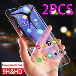 2pc Vidro Temperado sobre para Samsung Galaxy A31 A30 A30S A51 A71 M30 M30S M31 UM 51 71 M 31 30 30S Proterctor Tela Película Protetora