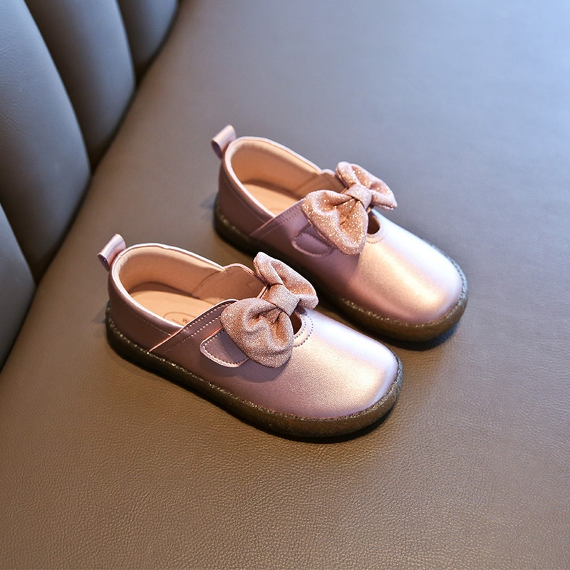 Children's shoes, girls' shoes, princess shoes,autumn shoes, soft soles, small leather shoes and leather shoes enlarge