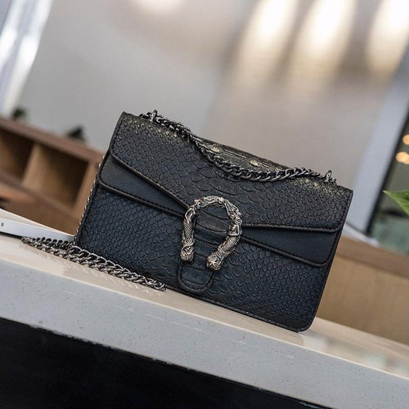 Luxury Women Handbags Top Quality PU Leather Women's Designer Brand Shoulder Crossbody Bag And Purses Female Chain Messenger Bag