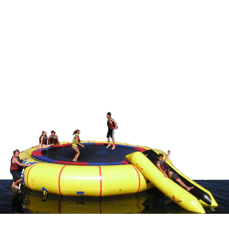 Inflatable Trampoline Water Sports Game Inflatable Bounce Equipment Water Trampoline For Kids Fun Play