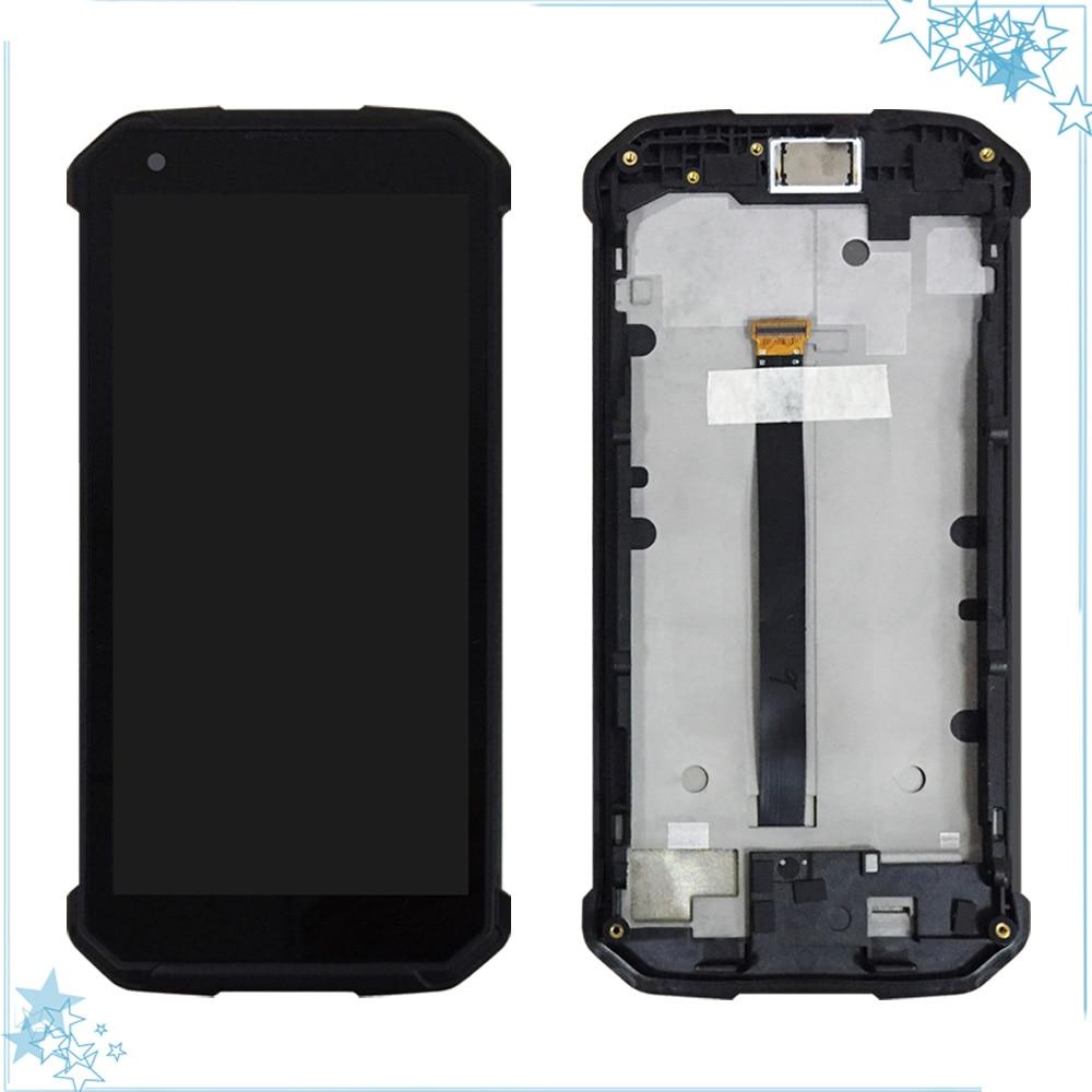 5.7 ''ل Blackview BV9500 / BV9500 برو شاشة الكريستال السائل مع محول الأرقام بشاشة تعمل بلمس مع الإطار الجمعية استبدال أجزاء الهاتف