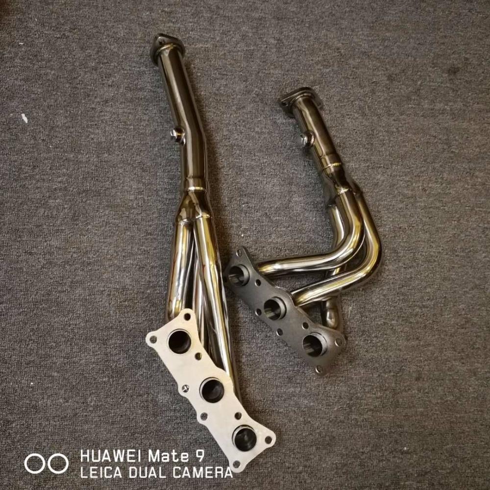 Na Заголовок выхлопной трубы для bmw n52 e90 e92 e93 3,0 2,5 L6 двигателя