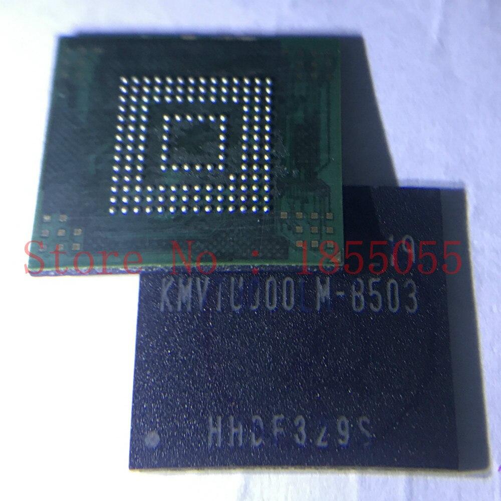 CHENGYAN KMVTU000LM-B503 para note2 n7100 i9300 de memoria Flash NAND con firmware KMVTU000LM-B503 EMMC