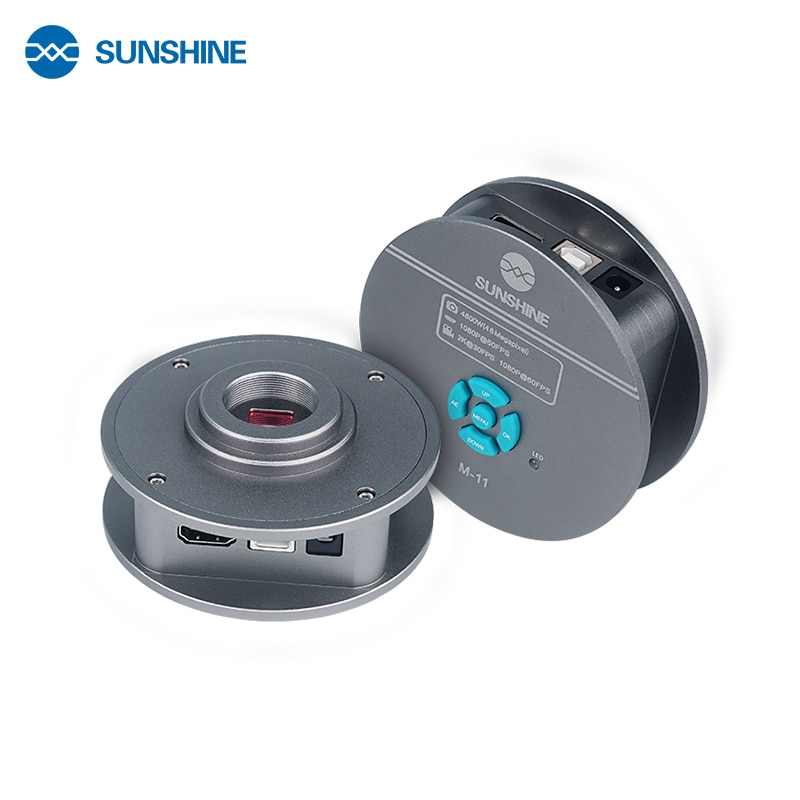 M-11 كاميرا ثلاثي العينيات المجهر كاميرا HDMI 48mp جدا HD C جبل كاميرا USB الصناعية كاميرا للهاتف المحمول إصلاح أدوات