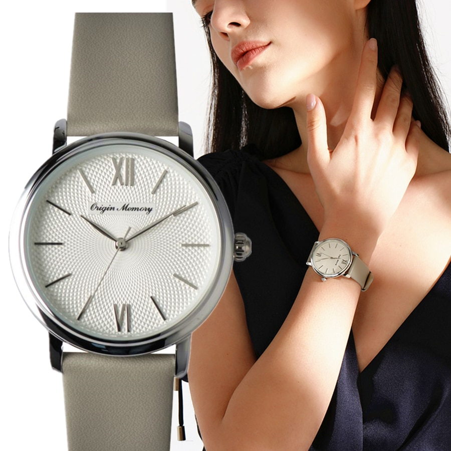 Luxury Women Watche soft leather strap Japan quartz movement Stylish Women's Bracelet Watches Ladies Watch Girl Clock