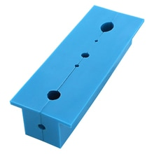 Banco magnético de 2 uds., almohadilla de mandíbulas con ranuras múltiples, agarres de soporte para fresado pesado, cortador para accesorios para máquina perforadora S26