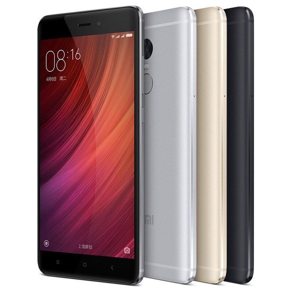 refurbished  Xiaomi Redmi Note 4 5.5 Inch Quad-Core Mobile Phone 3+64GB ROM 4000mAh Battery