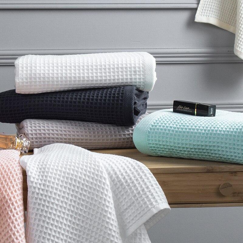 Algodón Waffle Plaid manta de verano para sofá cama toalla edredón mujer envoltura manta de siesta mantas manta para Coche Oficina