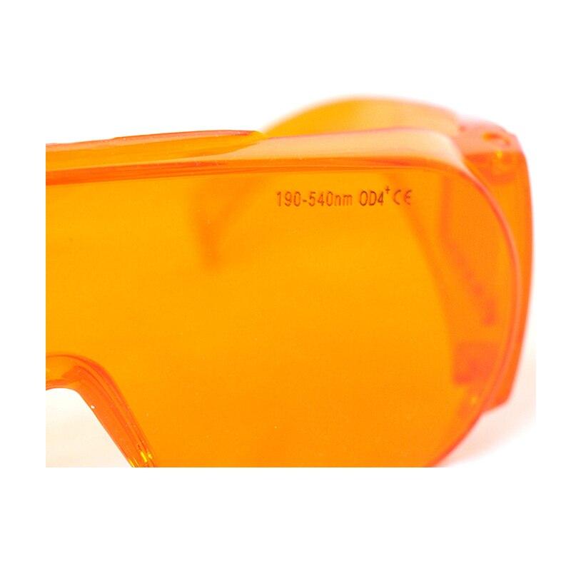 Орел пара 190-540 нм OD4% 2B EP-3-6 широкий спектр непрерывный поглощение лазер защитные очки