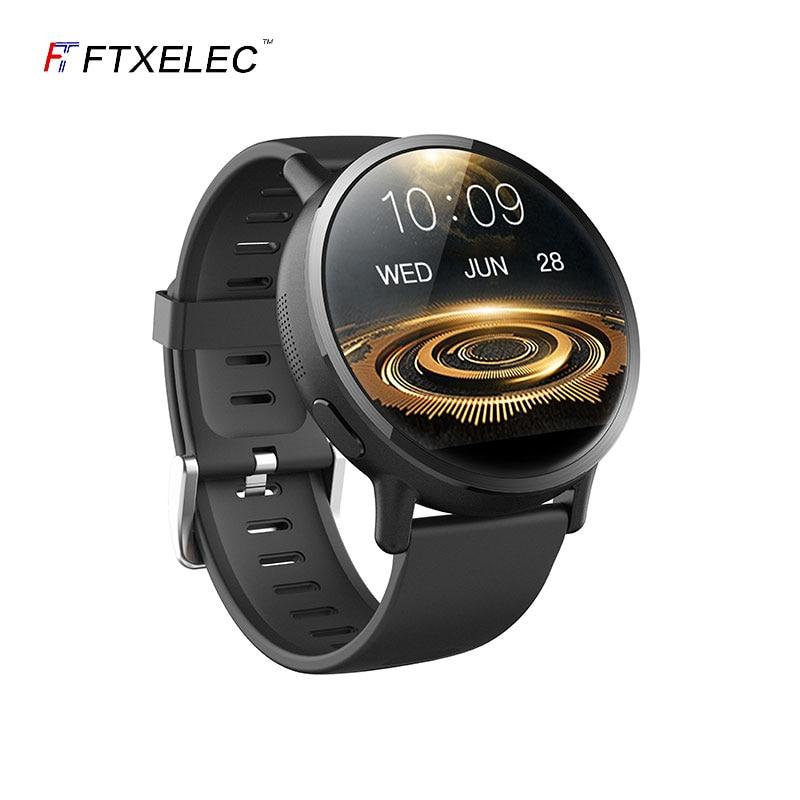 Promo FTXELEC Android 4G Smart Watch phone wifi insert SIM card bluetooth call adult Sports Waterproof Smartwatch