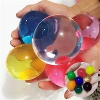 Grandes perles en Hydrogel cristal de 3 a 4cm  100 pieces lot  grosses boules de croissance de boue  pour sol et eau  decoration de maison  bulbes de croissance pour mariage
