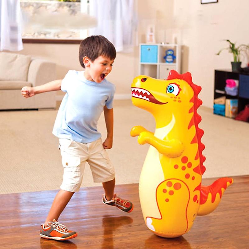 Уличные игрушки, боксерский мешок, тумблер, надувные игрушки, игрушки с животными для детей, мальчиков, девочек, детей 4-10 лет