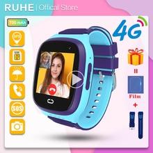 Smart Watch Kids GPS 4G LT31 Tracking  IP67 Waterproof Smartwatch Security Fence SOS SIM Call Sound