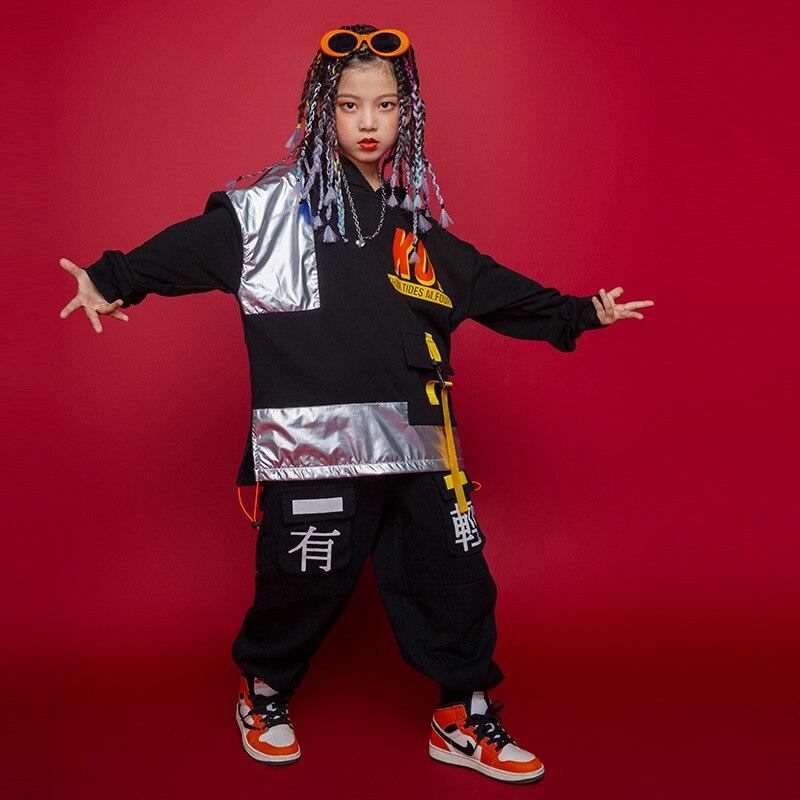 Sudadera con capucha para niños de hip hop ropa de calle y...