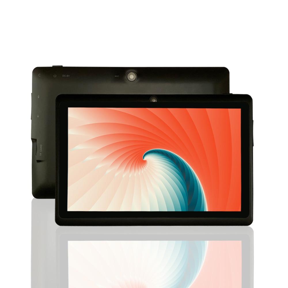 PRITOM K7 Mini tableta de 7 pulgadas Android 9,0 PC 1GB RAM 16GB ROM Quad Core tabletas cámara con Bluetooth y wifi Multi-idioma apoyo