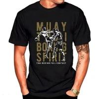 muai thai boxing spirit full contact fight mma t shirt men t shirt tshirt male female top tee 100 cotton fitness mens t shirt