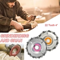 4 inch wood carving disc angle grinder disc 22 tooth chain saw blade for carving cutting removing wood %d1%88%d0%bb%d0%b8%d1%84%d0%be%d0%b2%d0%b0%d0%bb%d1%8c%d0%bd%d0%b0%d1%8f %d0%bc%d0%b0%d1%88%d0%b8%d0%bd%d0%ba%d0%b0