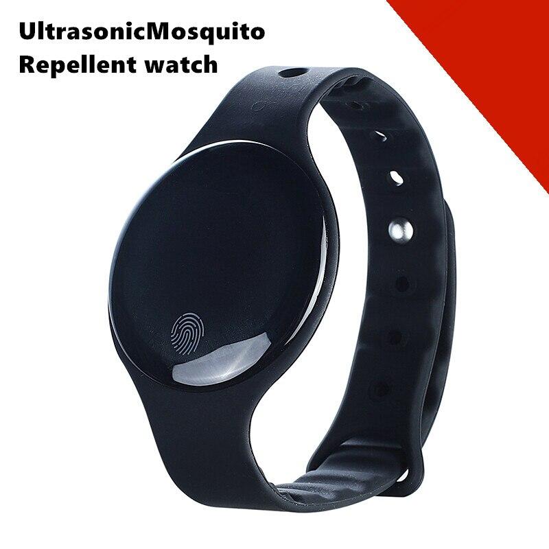 2020 novo inteligente ultra-sônico mosquito repelente relógio usb recarregável ip65 à prova dwaterproof água ao ar livre anti inseto pragas bugs pulseira