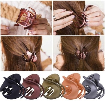 ncmama Vintage Non Slip Irregular Hair Clamps