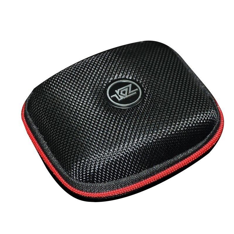 CCA Kz Logotipo de alta calidad bolsa de almacenamiento paquete accesorios auriculares caso duro caja para almohadillas de cargador de Cable Usb para auriculares