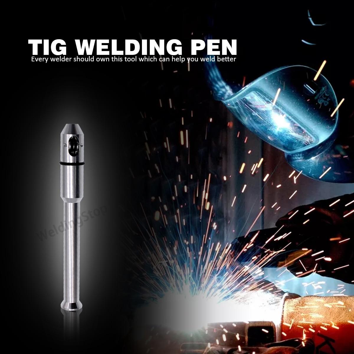 TIG Pen Finger Feeder Welding Rod Holder Filler Wire Pen 1.0-3.2mm (1/32''-1/8'') Welder Accessories