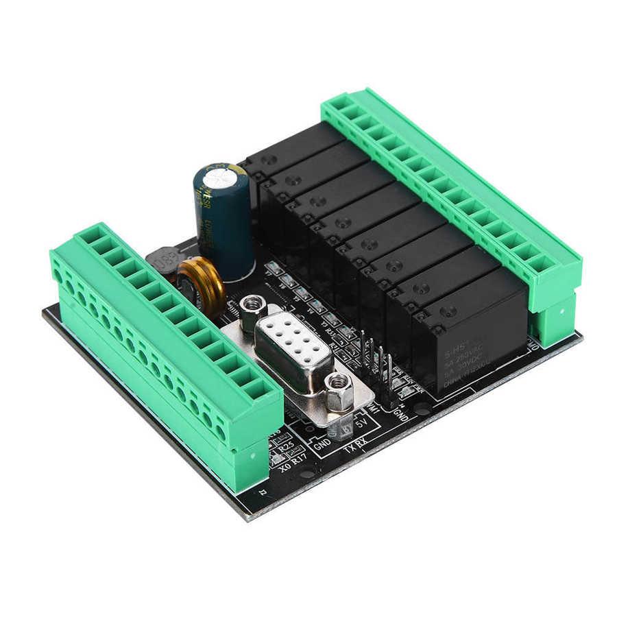 وحدة تحكم منطقية قابلة للبرمجة تيار مستمر 24 فولت وحدة التتابع FX1N/2N-6MR/T/10/14/20MR/T لوحة تحكم الصناعية القائمة