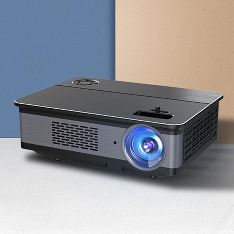 جهاز عرض ليد محمول 5800 لومن, نظام أندرويد 1080 ، 4k جهاز عرض مسرحي p