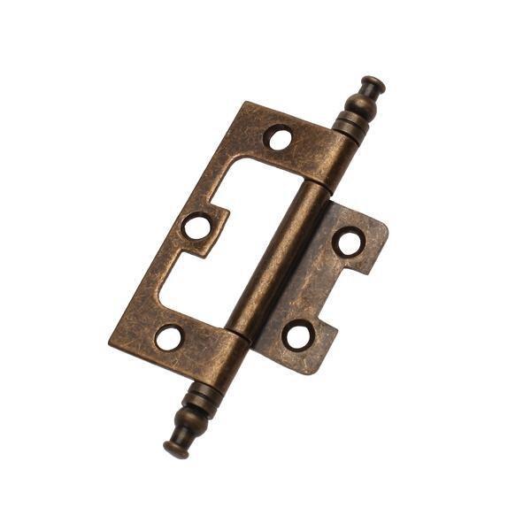 2x bisagra de bronce envejecido para el hogar, la cocina, el armario, el armario, la puerta del compartimiento