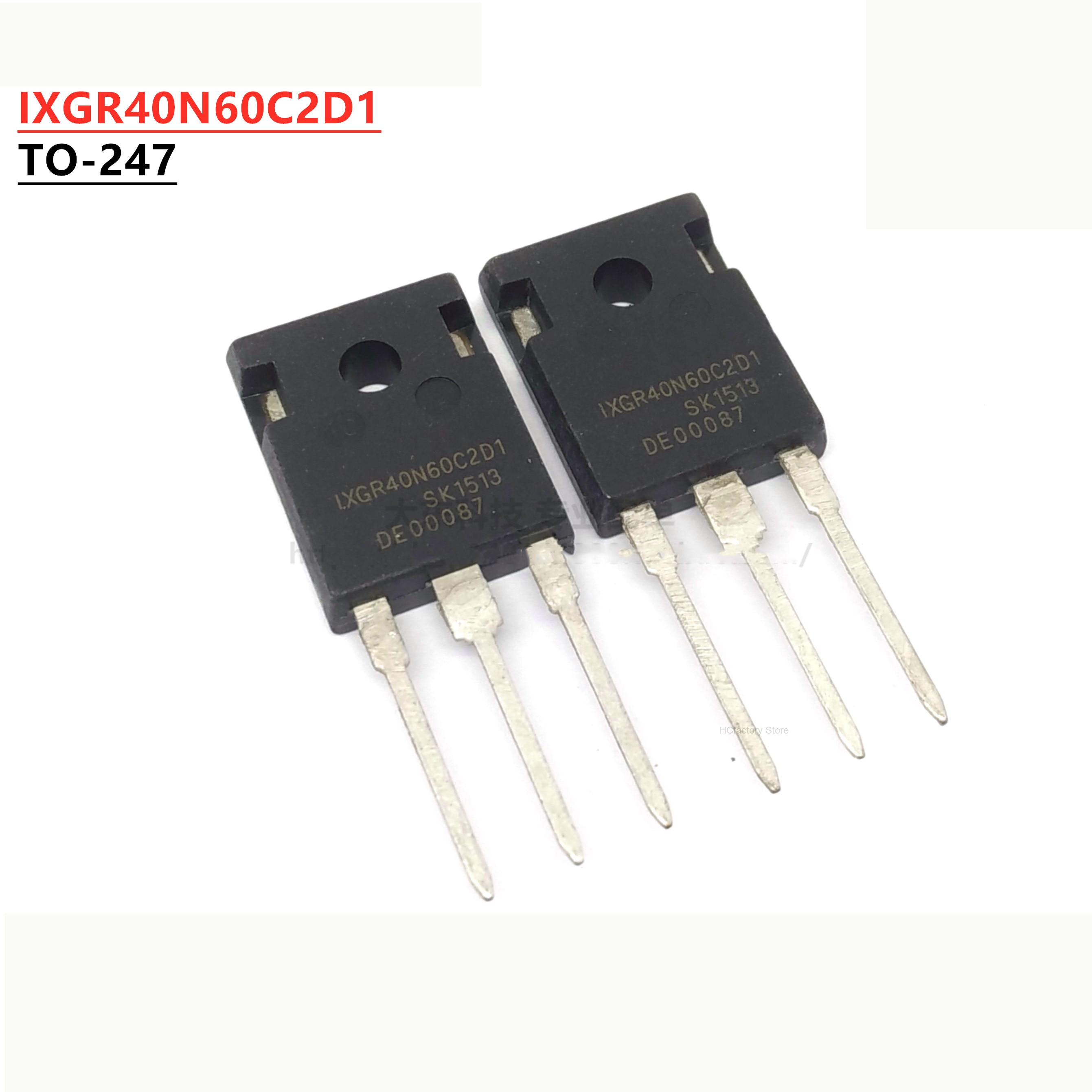 Фото - NEW Original 2pcs/lot IXGR40N60C2D1 TO-247 40N60C2D1 TO247 IXGR40N60 TO-3P 40N60 cischy Wholesale one-stop distribution list mbr40200pt to 247