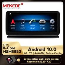 ¡Novedad de 2020! sistema multimedia de coche MSM8953 android 10,0 para Benz CLS Class W218 CLS350 CLS400 CLS500 2011-2012 DSP carplay integrado