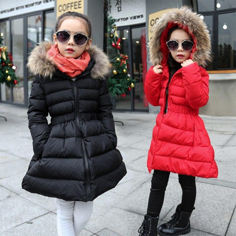 ulknn menina casaco de pele de inverno para criancas engrossar roupas crianca algodao